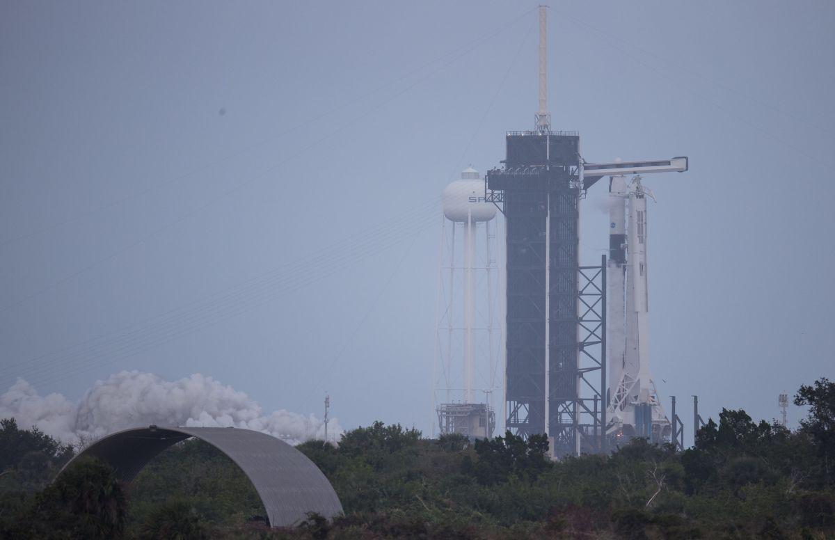 Spacex Vient De Tester La Fusée Falcon 9 Pour Son