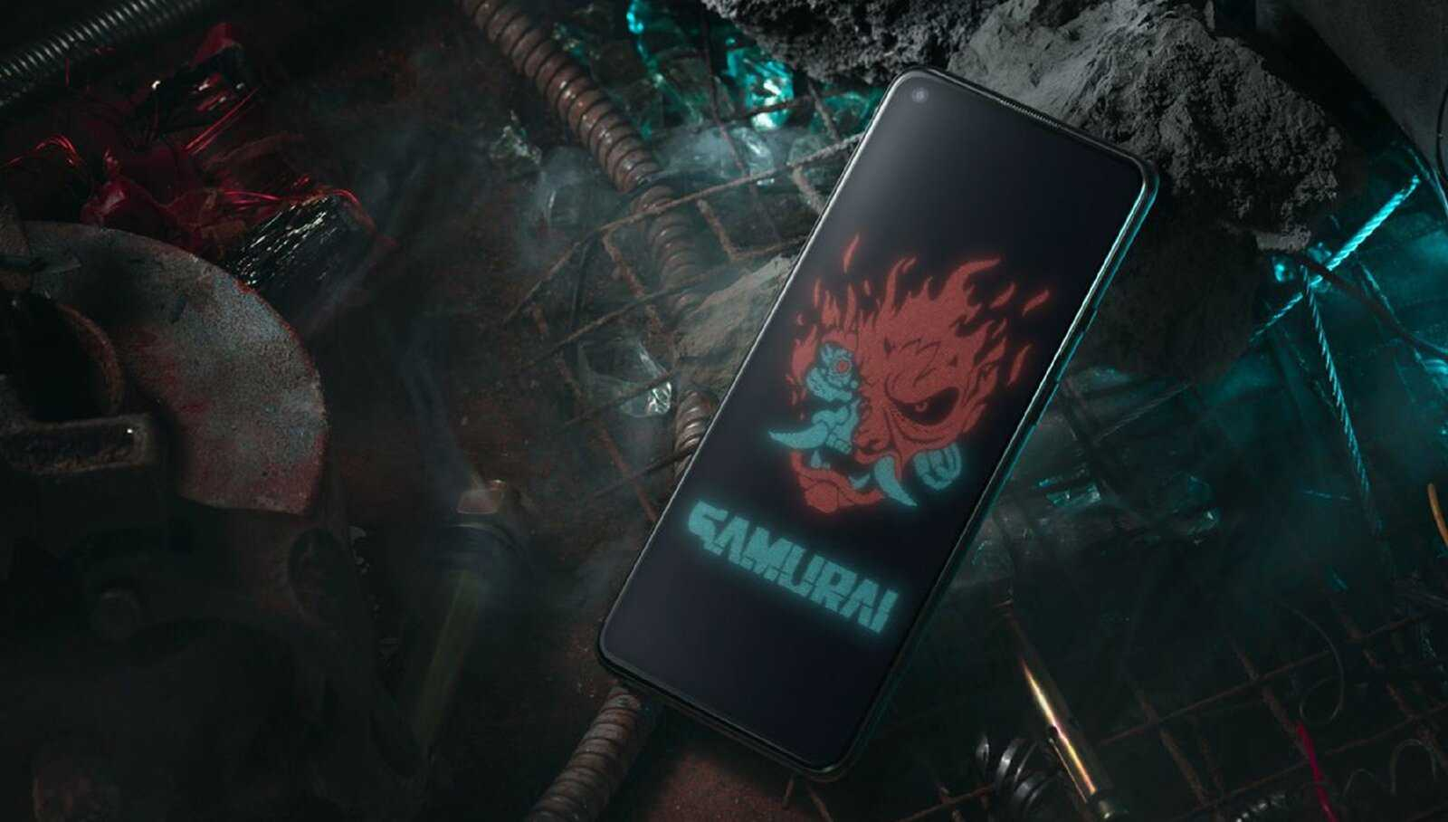 OnePlus 8T Cyberpunk, fonds d'écran officiels.