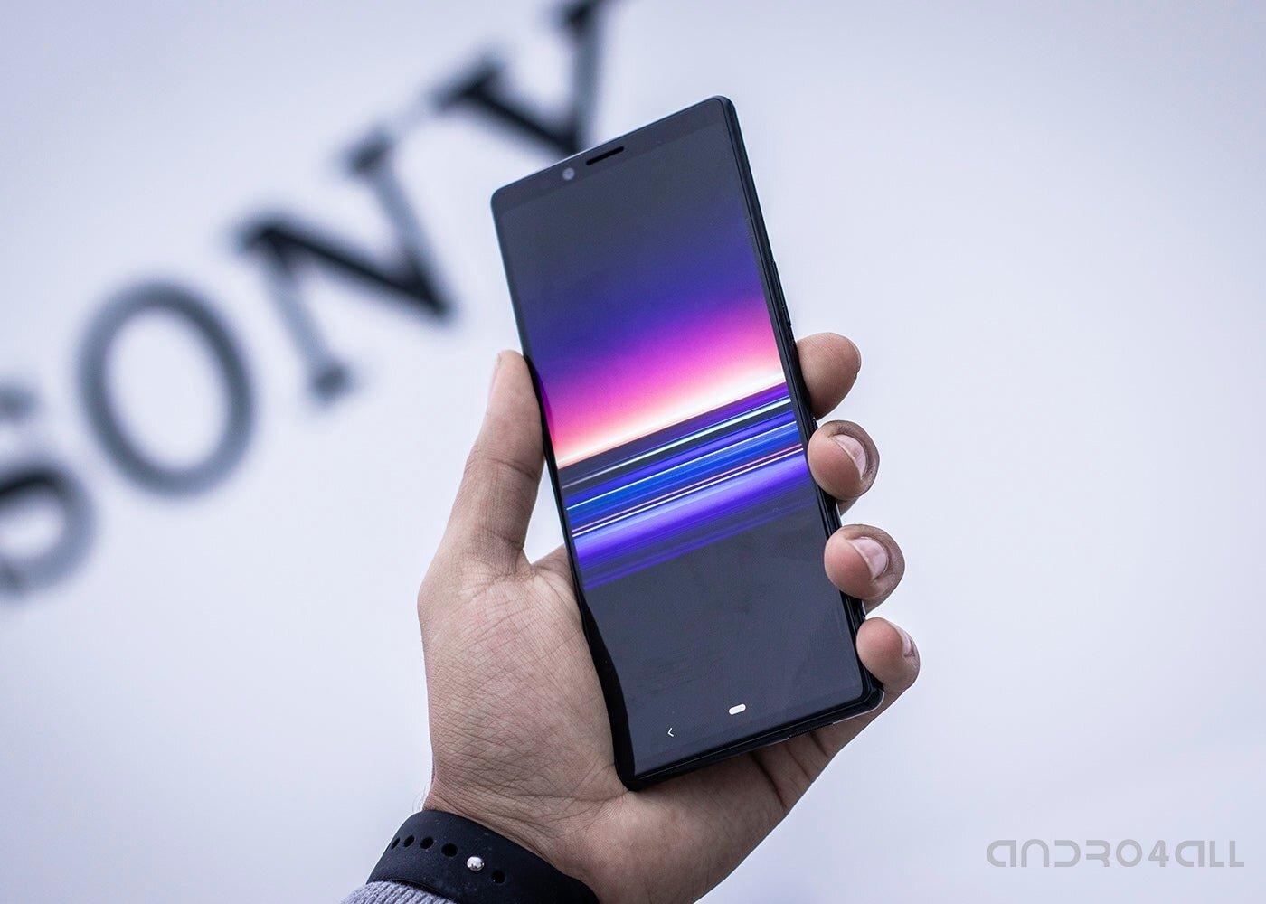 Sony Xperia 1, avant