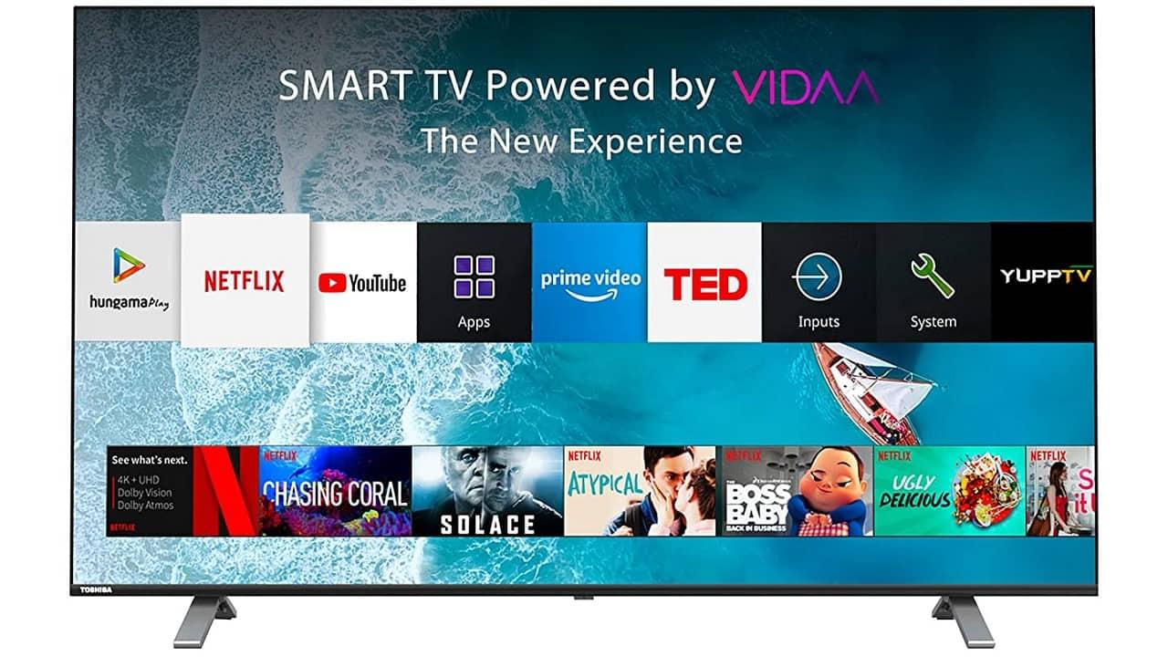 Test du téléviseur intelligent Toshiba 50U5050 4K: qualité d'image et fonctionnalités impressionnantes, prise en charge limitée des applications