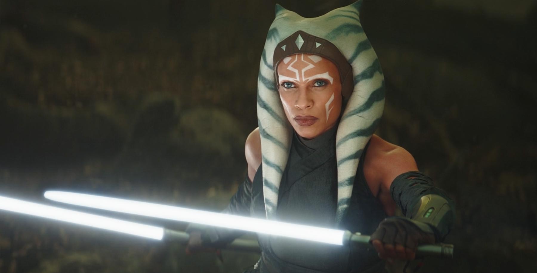 Rosario Dawson était parfaitement choisi comme Ahsoka Tano, le chevalier Jedi Togruta de