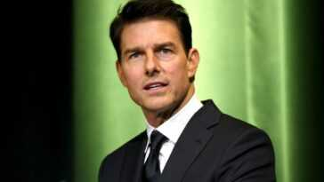 Tom Cruise at an event