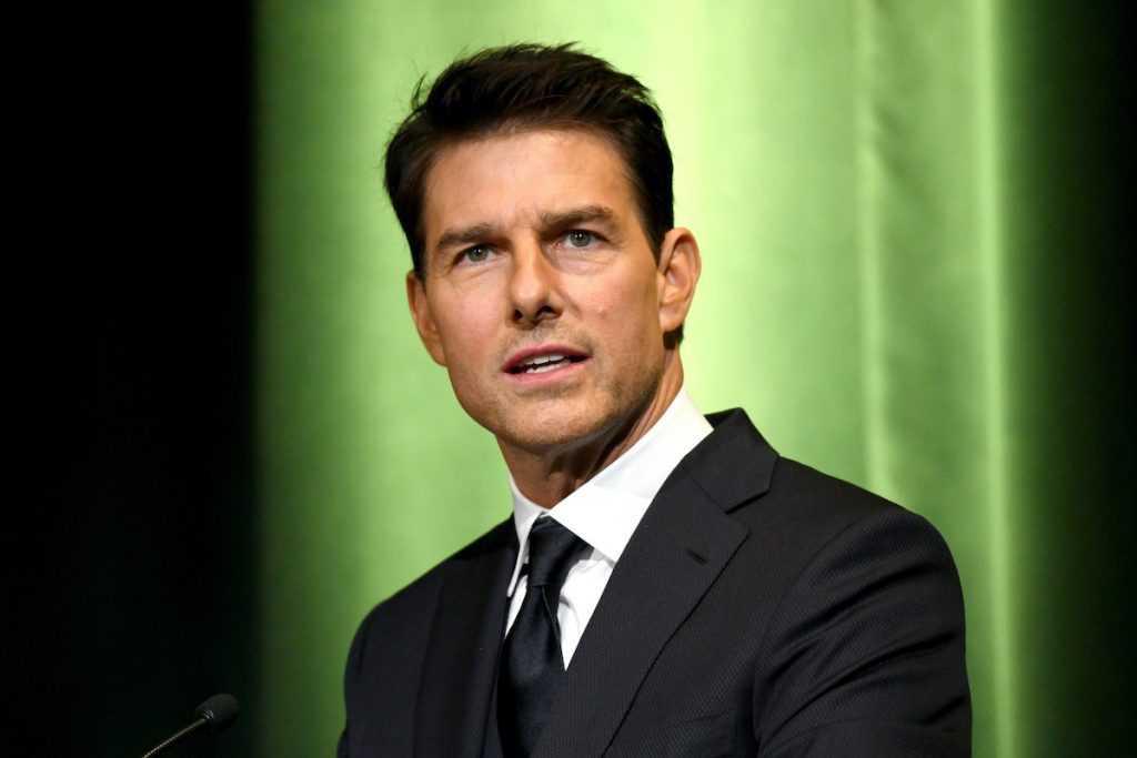 Tom Cruise lors d'un événement