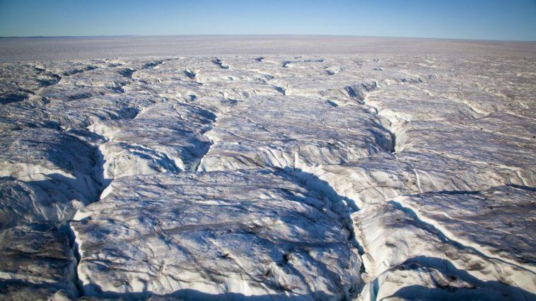 Un Lac Primitif Du Groenland Retrouvé Enfoui Sous Une Plaque
