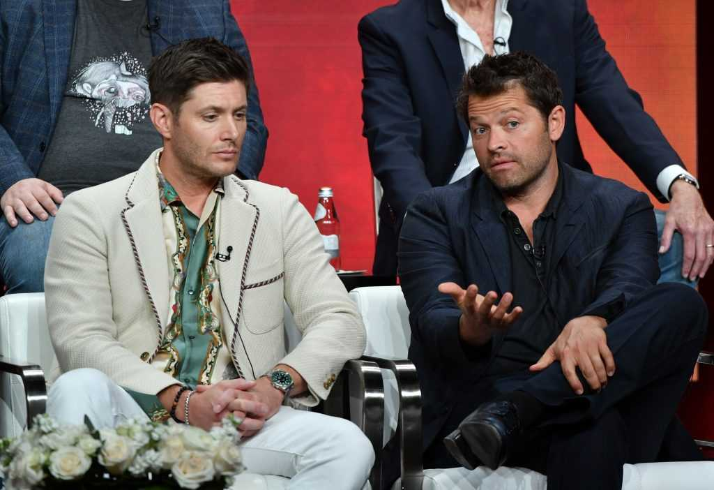Jensen Ackles et Misha Collins