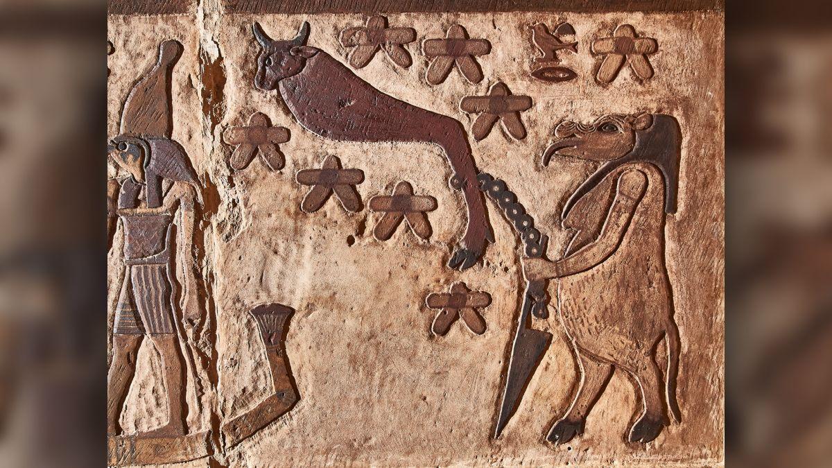 Un Temple égyptien Antique Révèle Des Constellations D'étoiles Jusque Là Inconnues