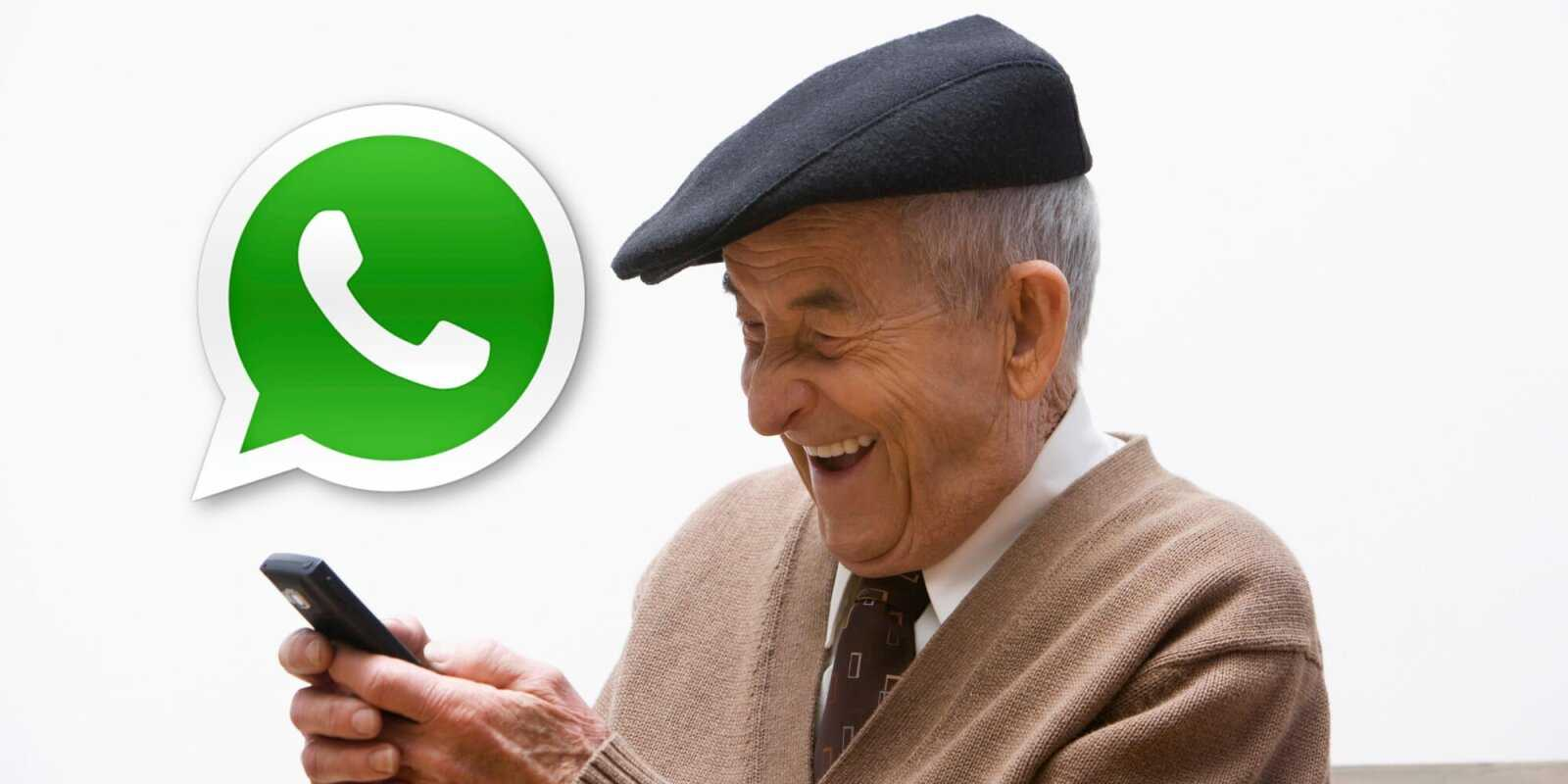 WhatsApp mobile pour les seniors