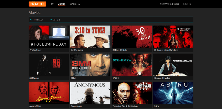 Best Free Streaming Apps Crackle
