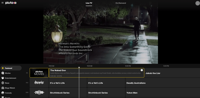 Best Free Streaming Apps Movies Tv Pluto Tv