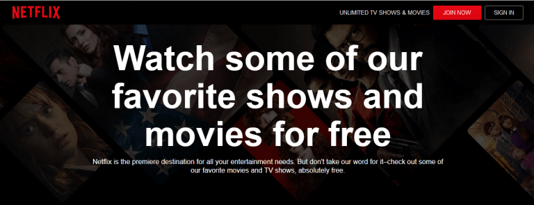 Best Streaming Sites For Movies Tv Netflix Watch Free