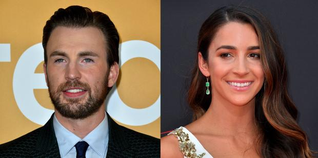 Chris Evans Aly Raisman.jpg