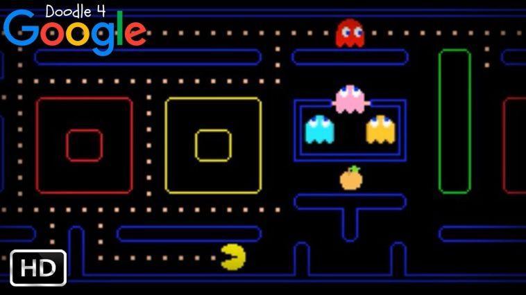 Doodle Google Pacman