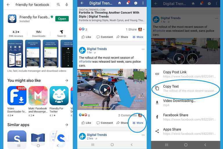 How To Dowload A Video From Facebook Using An App 768x768