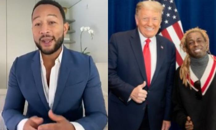 John Legend Says Slams Lil Wayne Lil Pump Other Rappers Whove Endorsed Donald Trump.1604416983.jpg