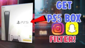 Ps5 Box Instagram Filtre