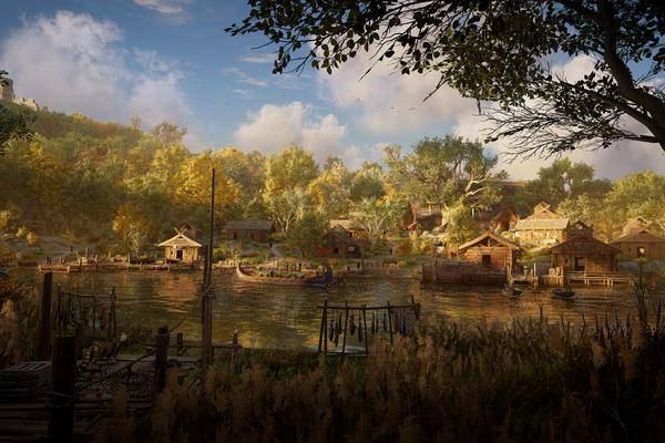 """assassin's Creed Valhalla"": Agrandissez Le Village Les Bâtiments Les"