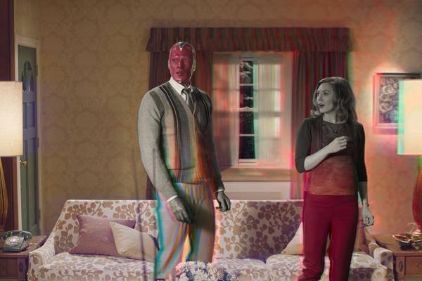 """""""wandavision"""" Sera Comme Un """"film D'action Mélangé à Des Sitcoms"""""""
