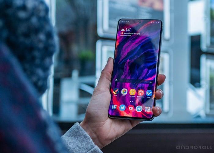 Samsung Galaxy S20 Ultra, écran