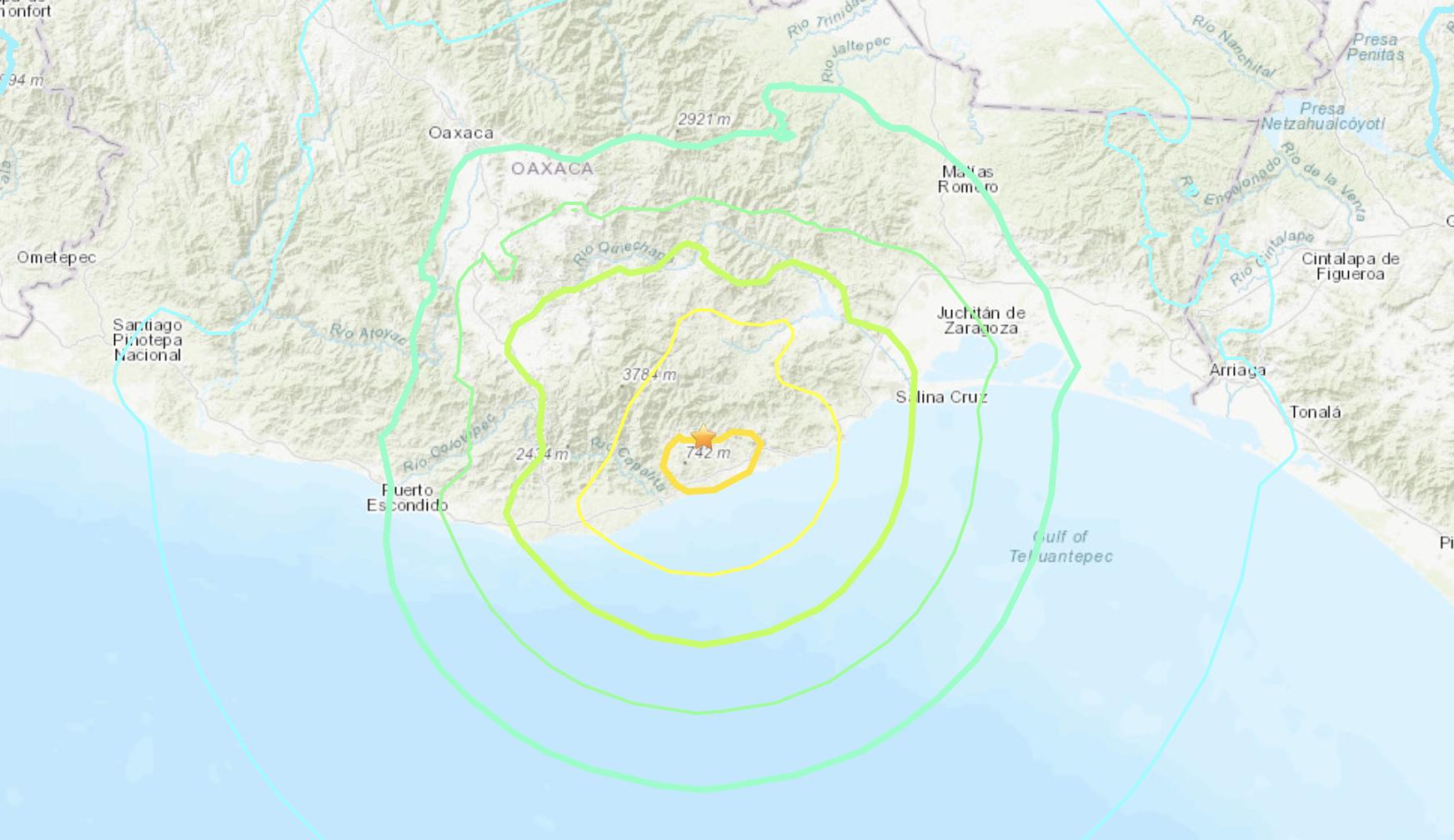 Un séisme de magnitude 7,4 a frappé la côte sud d'Oaxaca, au Mexique, le 23 juin 2020