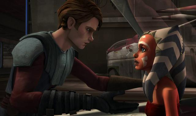 Ahsoka Tano était le seul Padawan d'Anakin Skywalker (Photo: Disney +)
