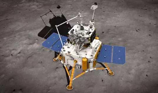 Le Chinois Chang'e 5 Atterrit Sur La Lune Pour Collecter