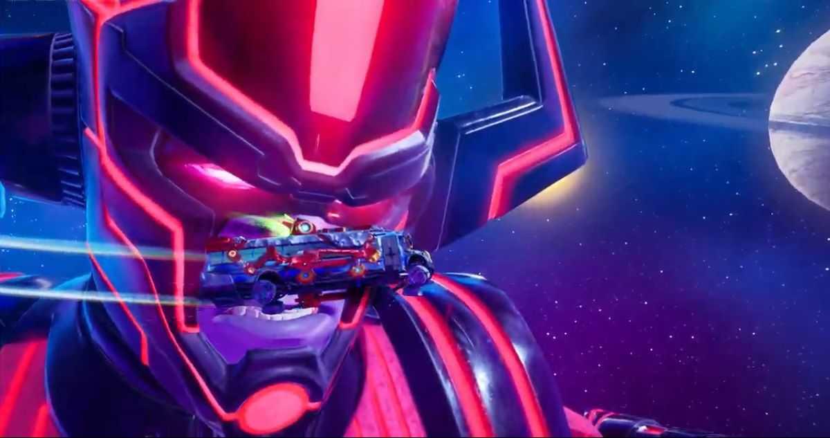L'événement En Direct Galactus De Fortnite était Un Jeu De