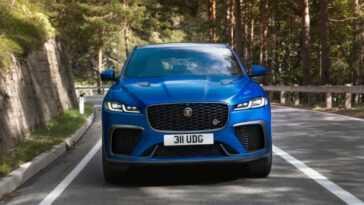 La Jaguar F Pace Svr Rénovée Est Plus Rapide Et Plus