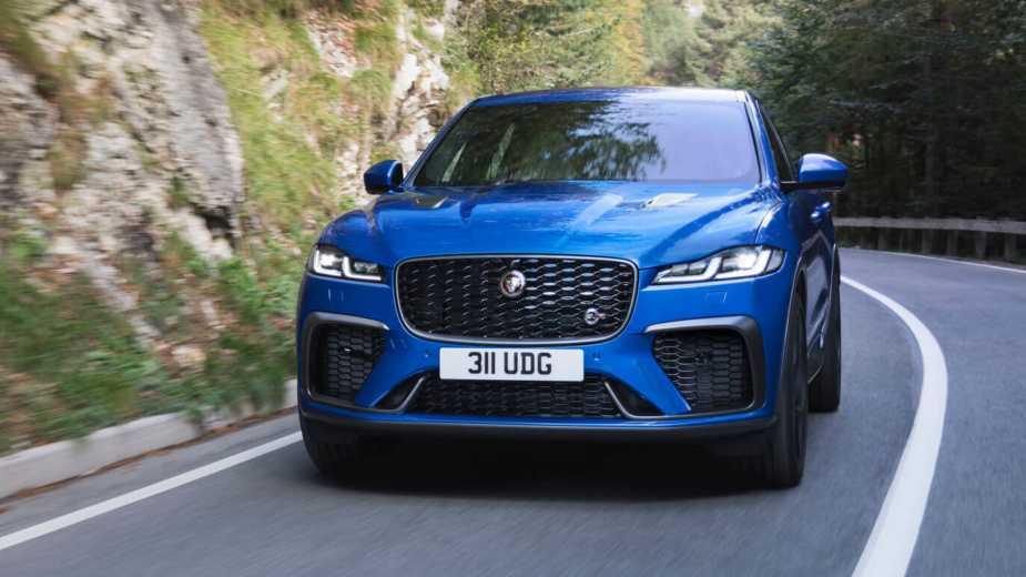 La Jaguar F Pace Svr A été Repensée. C'est Devenu Encore