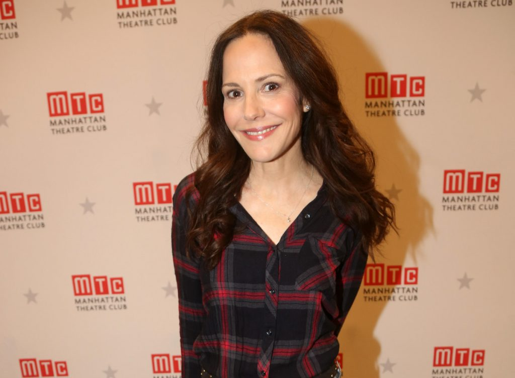 Mary-Louise Parker pose lors d