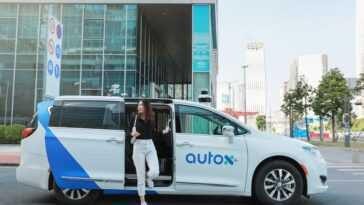 AutoX a déployé toute une flotte de taxis entièrement autonomes et sans conducteur à Shenzhen, en Chine