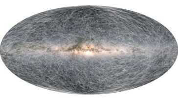La Carte La Plus Précise De Notre Galaxie Identifie 1,8