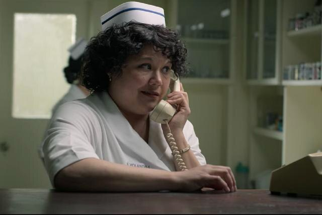 "Natasha Pérez joue Yolanda Saldivar dans ""Selena: La Serie"" (Photo: Netflix)"