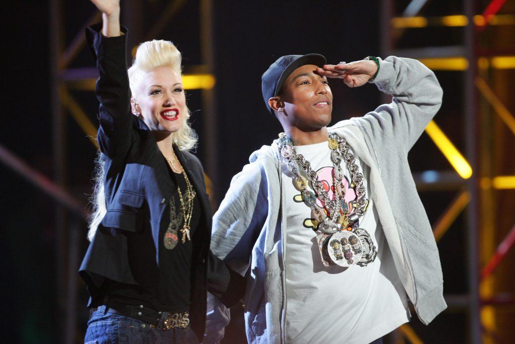 Gwen Stefani et Pharrell sur scène