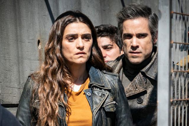 Juli et Hugo ont réussi à libérer Marta et les autres enfants (Photo: Antena 3)