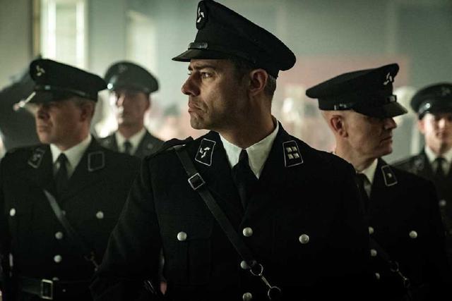 """Manu Fullola joue le colonel Enrique Jiménez dans """"La valla"""" (Photo: Antena 3)"""