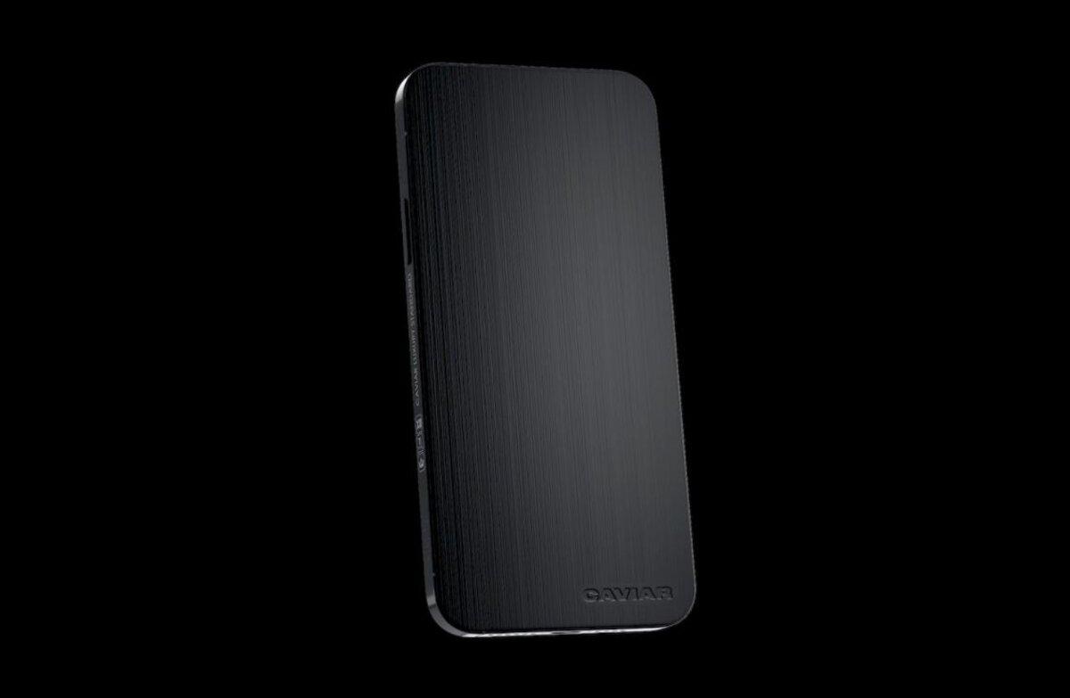 caviar noir iphone