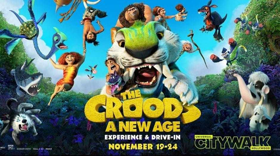 `` The Croods: A New Age '' Arrive En 4k,