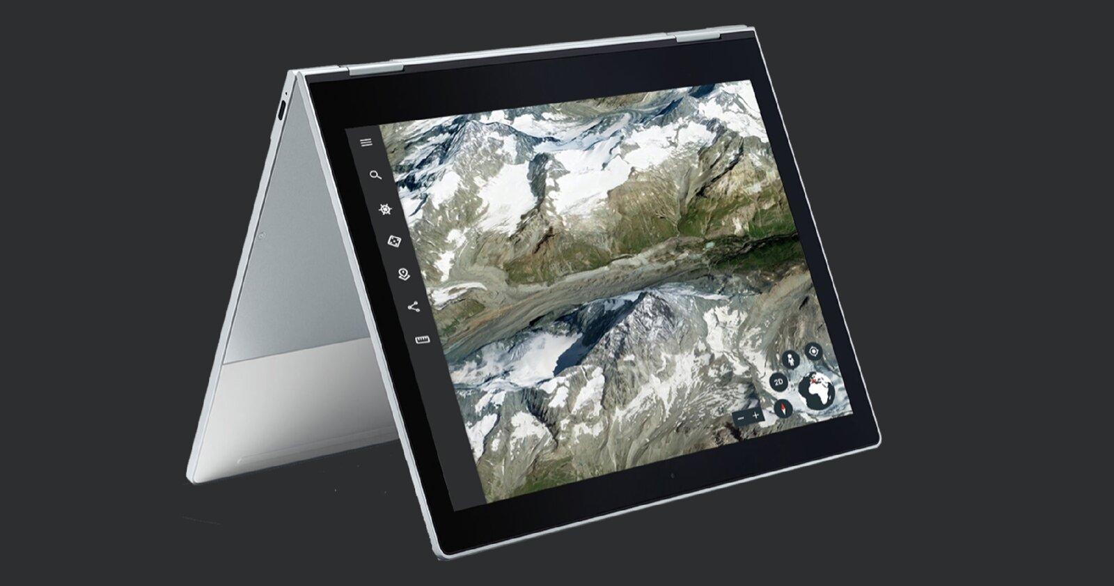 Google Earth pour les tablettes Android et ChromeOS