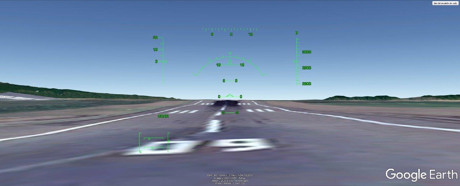 Simulateur de vol Google Earth
