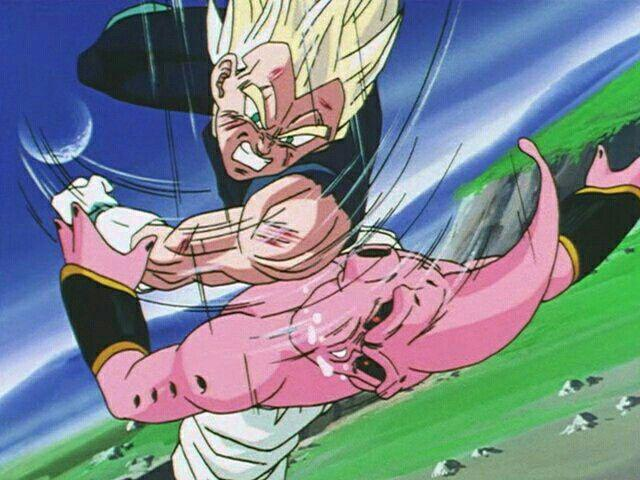 Vegeta vs Buu (Photo: Toei Animation)
