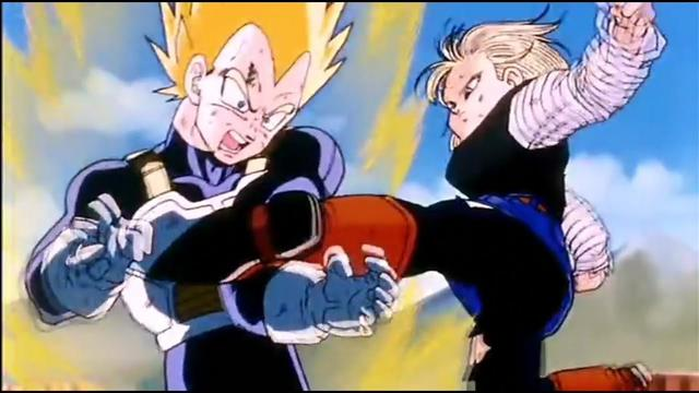 Vegeta vs Android 18 (Photo: Toei Animation)
