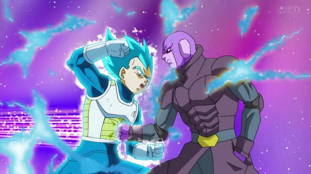 Vegeta vs Hit (Photo: Toei Animation)
