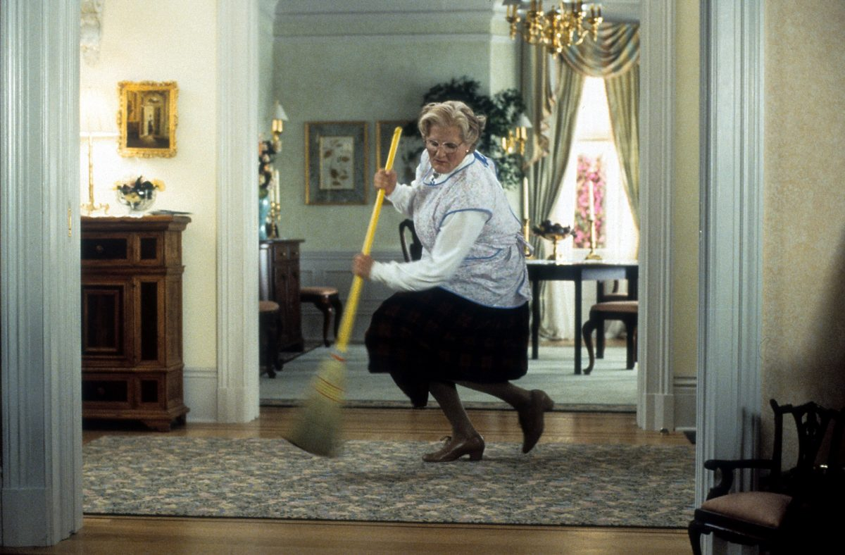 Robin Williams comme Mme Doubtfire