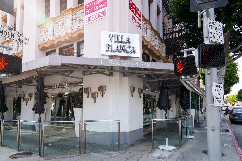 Villa Blanca, le restaurant de Lisa Vanderpump à Beverly Hills