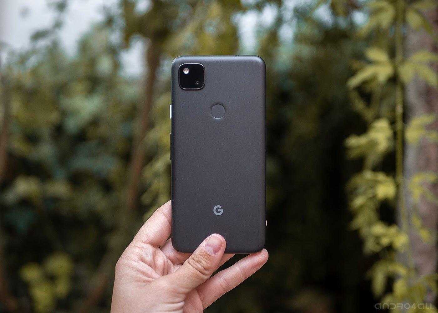 Arrière du Google Pixel 4a