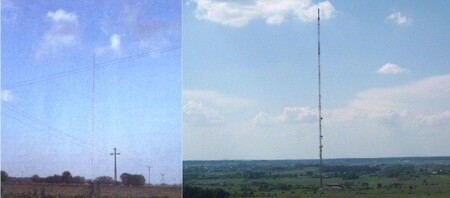 Mât de la radio de Varsovie à Konstantynow