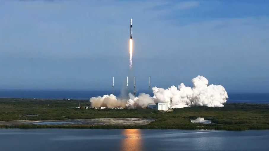 Spacex Vient De Lancer Un Puissant Satellite Sirius Xm En