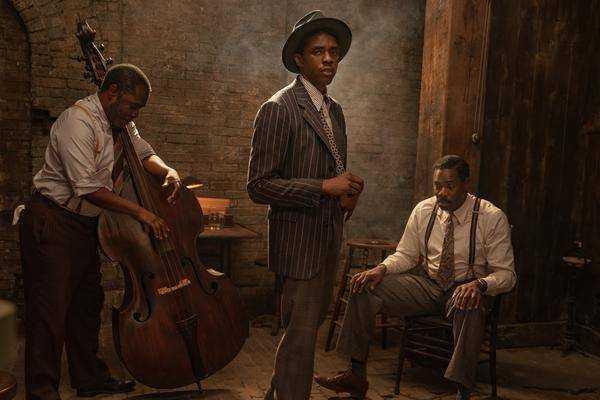 """""""fond Noir De Ma Rainey"""": Viola Davis & Chadwick Boseman"""