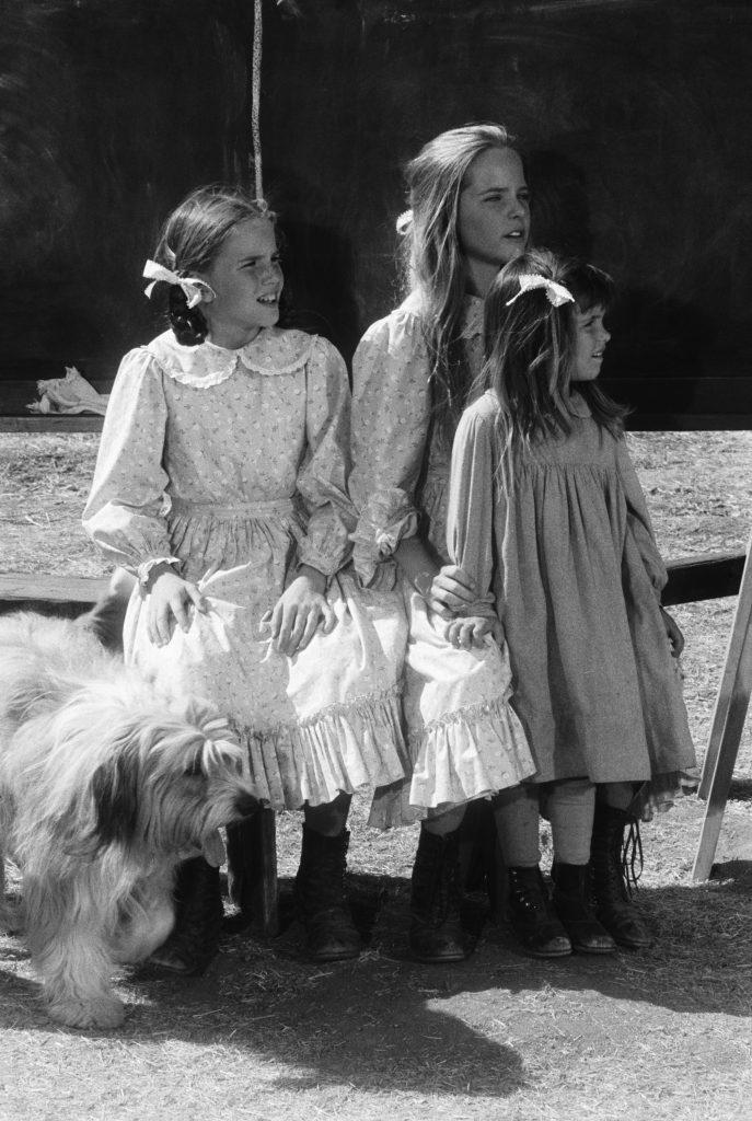 Melissa Gilbert, Melissa Sue Anderson et Lindsay ou Sydney Greenbush de 'Little House on the Prairie'
