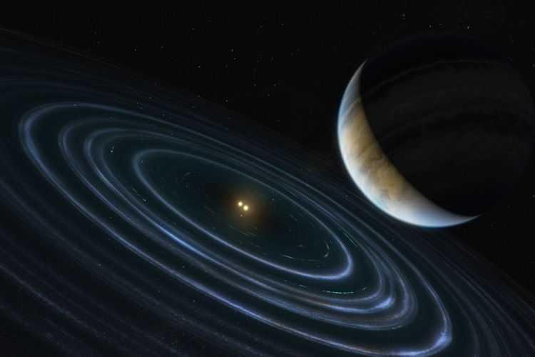 Un Monde Extraterrestre Bizarre Peut être Analogue à La Putative